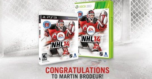 Стало известно, кто на обложке NHL 14