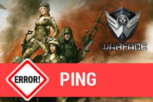 Как проверить ping в Warface и как его понизить