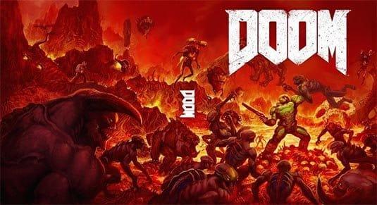 Кратко о мультиплеерных картах Doom 4