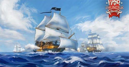 В War Thunder появились парусные корабли