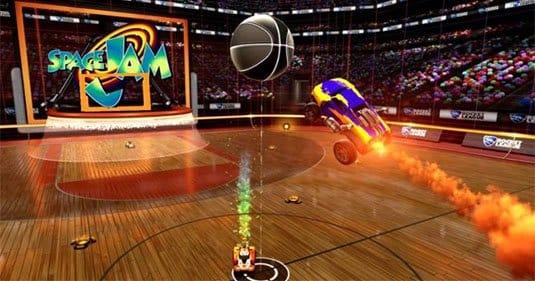 На следующей неделе все игроки Rocket League смогут играть в баскетбол