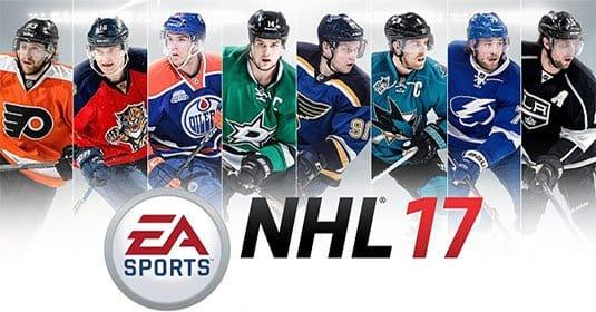 Анонсирован хоккейный симулятор NHL 17. Российский хоккеист на обложке?