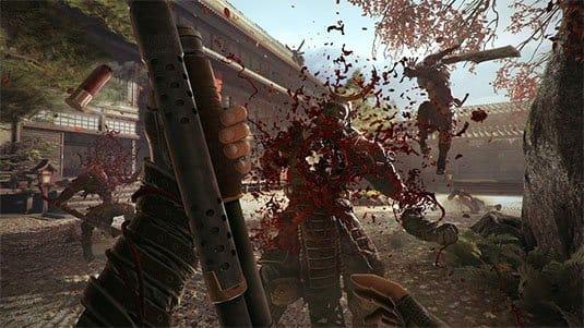 Кровавый танец с катанами в геймплее Shadow Warrior 2