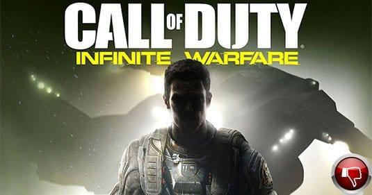 Трейлер Call of Duty: Infinite Warfare на Youtube получил огромное количество дизлайков