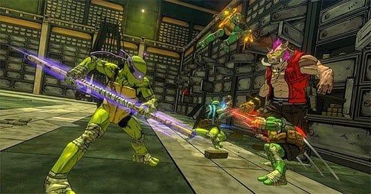 Серия трейлеров демонстрирует боевые приемы всех черепашек-ниндзя из одноименной игры