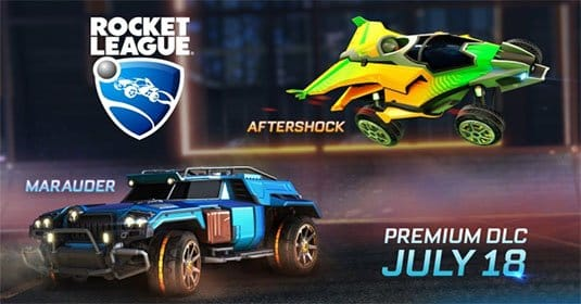 Новое DLC для Rocket League добавит в игру новые автомобили