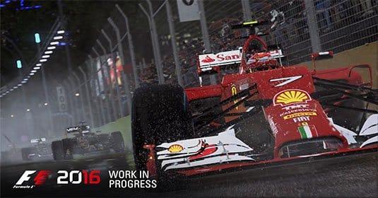 Опубликован новый трейлер F1 2016