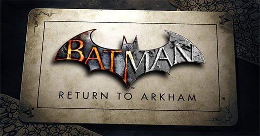 Batman: Return to Arkham будет выпущена в ноябре