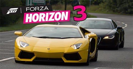 Forza Horizon 3 — показаны первые 150 автомобилей