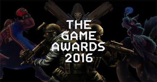 Известны все номинанты The Game Awards 2016