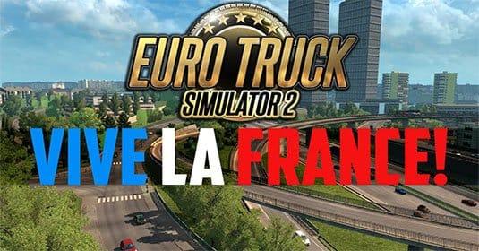 Vive la France! — вышло третье дополнение для Euro Truck Simulator 2