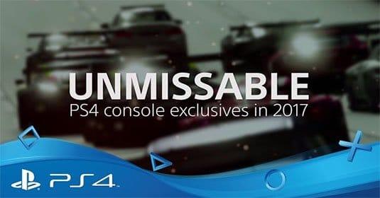 Sony показала, что ожидает игроков в 2017 году