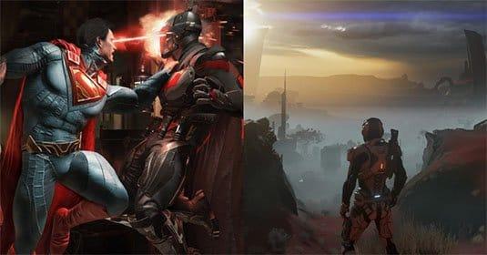 Injustice 2 и Mass Effect: Andromeda дебютируют в конце марта