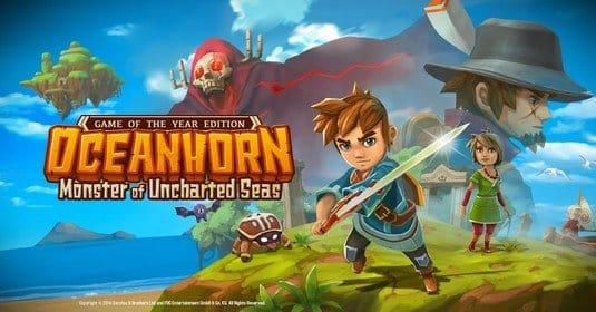 Новая порция информации об игре Oceanhorn 2, а также новые скриншоты