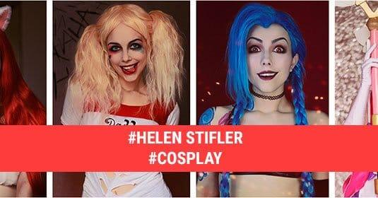 Косплеи Helen Stifler: фото и краткая биография