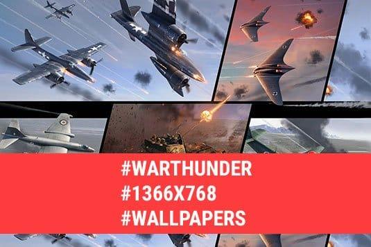War Thunder: обои 1366x768