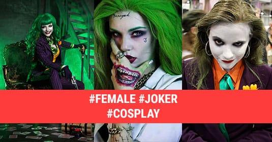 Косплей на Джокера: 7 лучших косплеев от девушек на Джокера