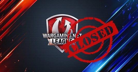 Wargaming.net League закроют