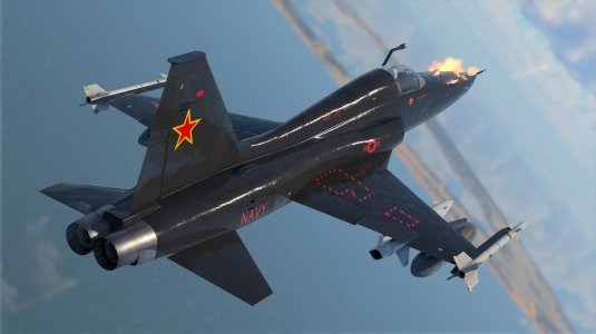 War Thunder — премиумный самолет F-5C Scoshi Tiger и снова скидки