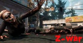 Игра про зомби Z-War