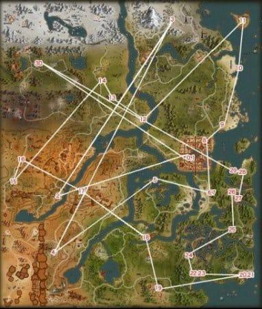 Квестовая карта