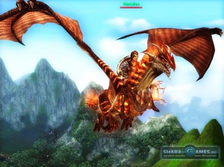 Огненный дракон - обычное явление в игре