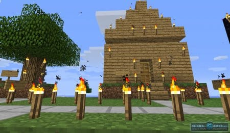 Достроенный дом