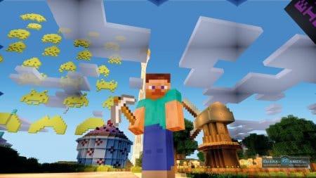 Мир игры Minecraft