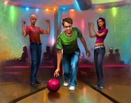 В Доме 3 можно играть онлайн бесплатно в боулинг и другие игры