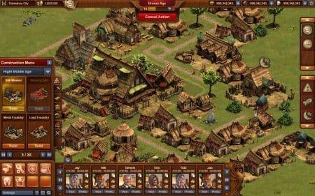 Деревня в игре Forge of Empire