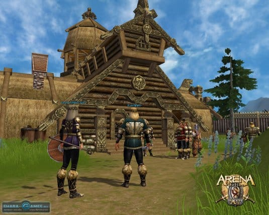Персонажи игры Arena Онлайн