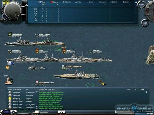 Корабли игры