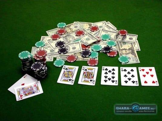 Начинаем игру Покер Онлайн