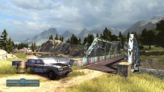 Ландшафты, на которых развернулся сюжет игры