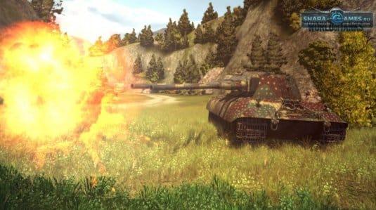 Немецкий тяжелый танк E100