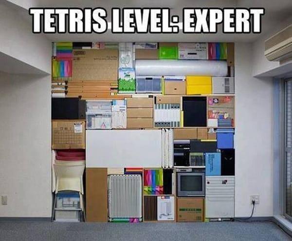 Тетрис — Эксперт уровень