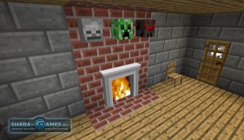 Minecraft мод на мебель