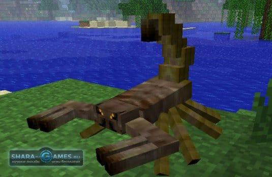 Minecraft мод на животных Mo' Creatures