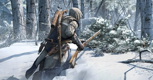 Охота по снегу