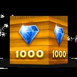 Современный вид золотого ящики ёмкостью 1000 кристаллов. Последнее обновление игры