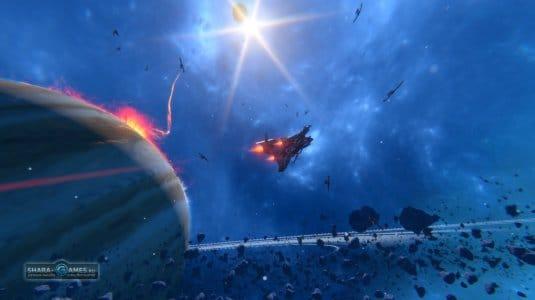 В игре Star Conflict очень красивый внешний мир, что, несомненно, привлекает игроков