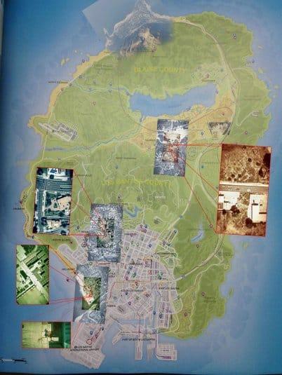 Карта GTA V