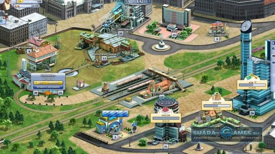 Улучшая постройки на своей станции вы добьетесь еще больше эффективности от своих поездов