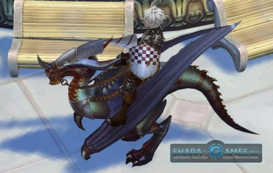 Ездовые животные доступны каждому игроку в Royal Quest