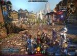 Скриншот городской суеты Neverwinter