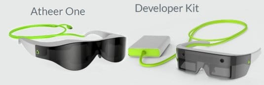 Atheer One — очки виртуальной реальности