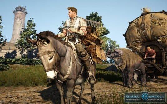 Вот так выглядят лошади в игре Black Desert Online