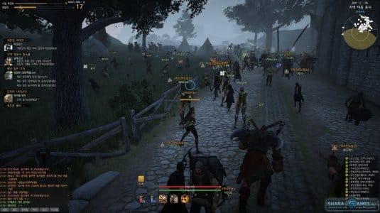 Все игроки собираются в одном месте, сражаясь за право владеть замком