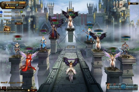 История мира League of Angels Online