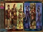 Выбор персонажа в игре «Дар»